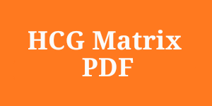 HCG Matrix